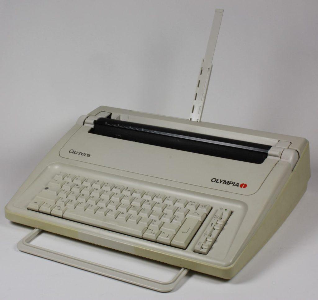 Olumpia typewriter